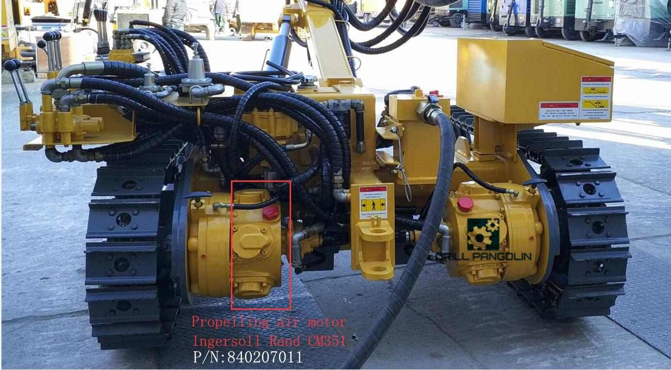 DRILL PANGOLIN Specialized in pneumatic crawler drilling