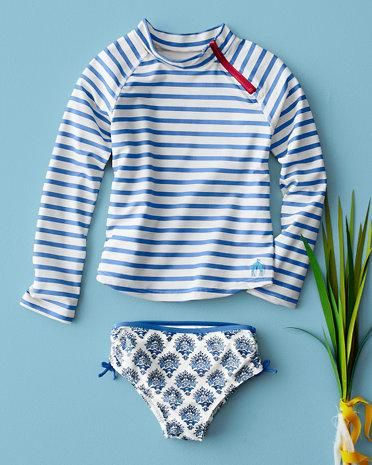 119fac5439c3 Striped Rashguard Set by Cabana Life