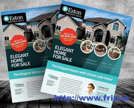 50 best real estate flyer print templates 2017 real estate flyers fresh real estate flyer templates perfect for your business purpose available in three color scheme options these templates is photo placeholders ready saigontimesfo