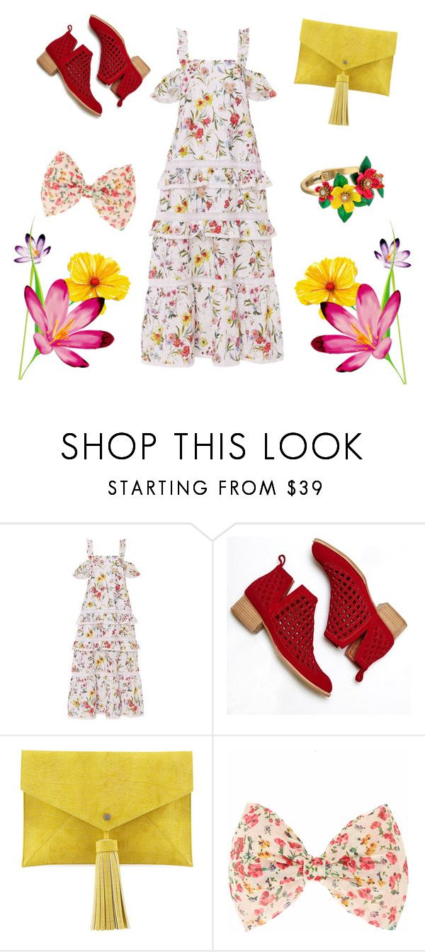 """To Much.?"" by elinormars ❤ liked on Polyvore featuring Nicholas, Jeffrey Campbell, Neiman Marcus and Betsey Johnson"