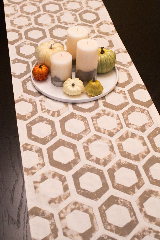 cheap decorating ideas 9 easy as pie diy table runner