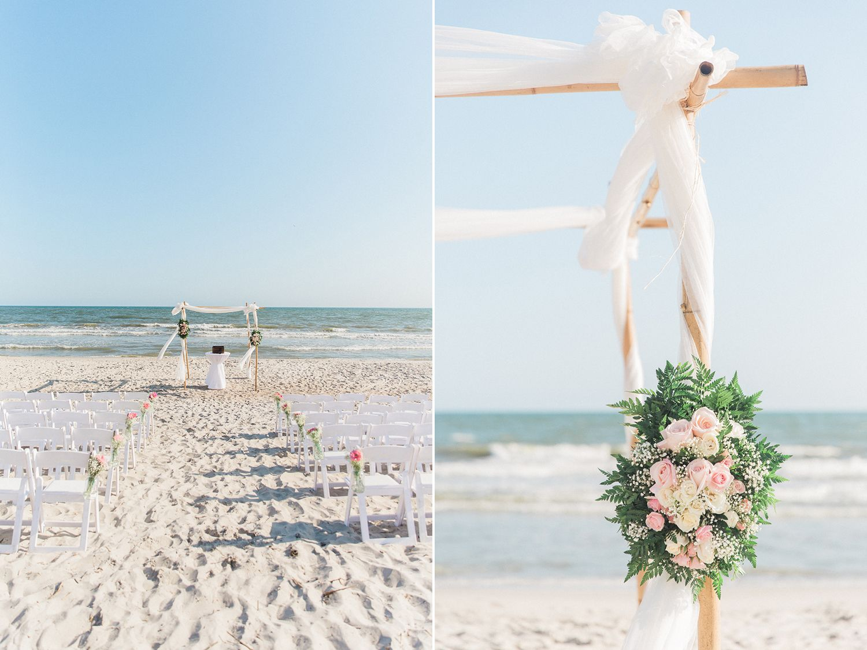 North beach plantation weddings  PAIGE  CHRIS  ST JAMES PLANTATION WEDDING oak island wedding