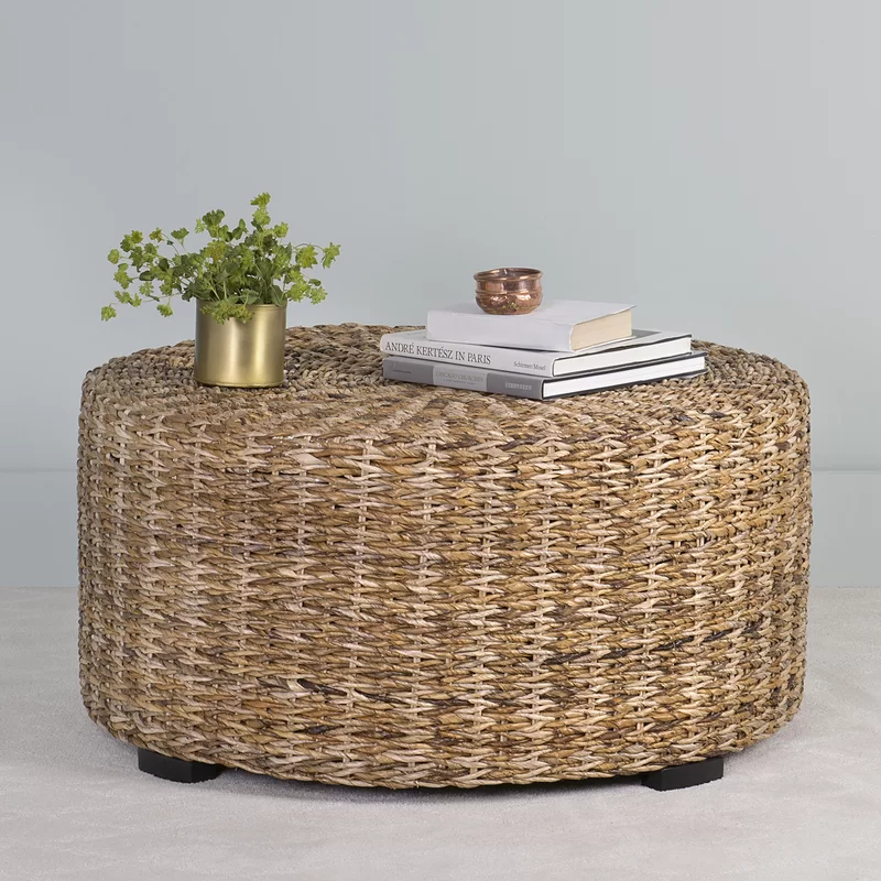 Breakwater Bay Petrucci Abaca Coffee Table Amp Reviews
