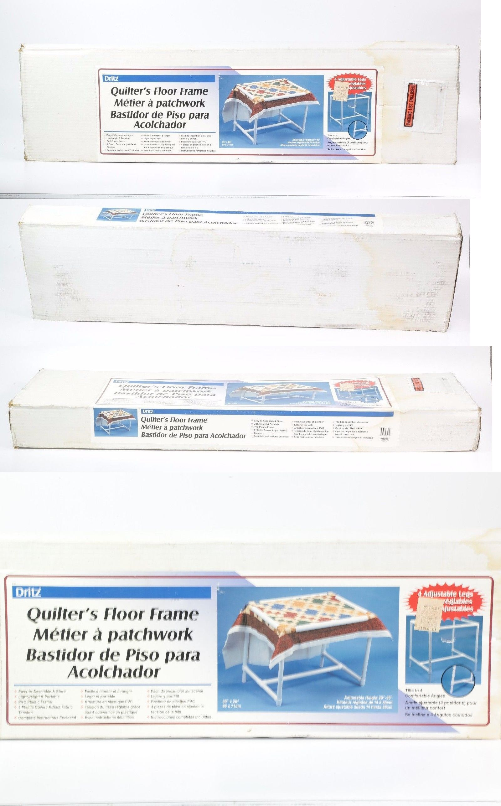 Quilting Tools and Equipment 19161: Dritz Quilters Floor Frame 39 ...