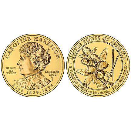 2009-W Proof $10 Gold Sarah Polk First Spouse Box OGP /& COA No Coins