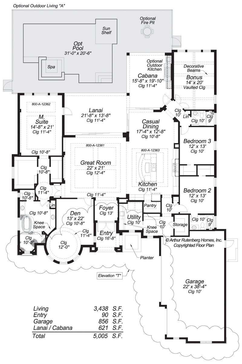 Arthur Rutenberg Floor Plans | Bermuda Floorplan