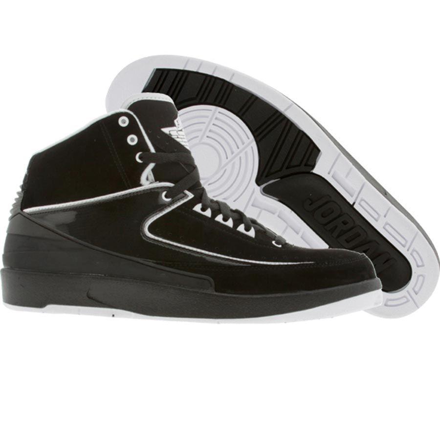 Air Jordan 2 II Retro QF (black / white) 395718-001 - $89.99