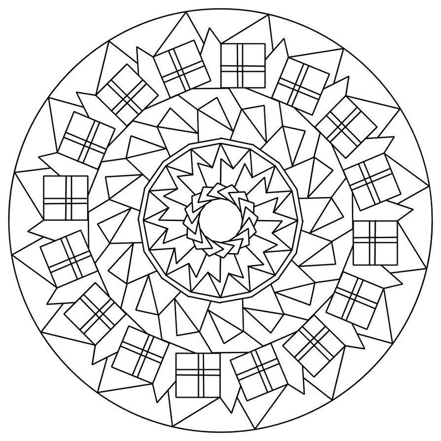 Mandala 133 By Sadadoki On Deviantart Mandala Coloring Pages Mandala Coloring Book Pages