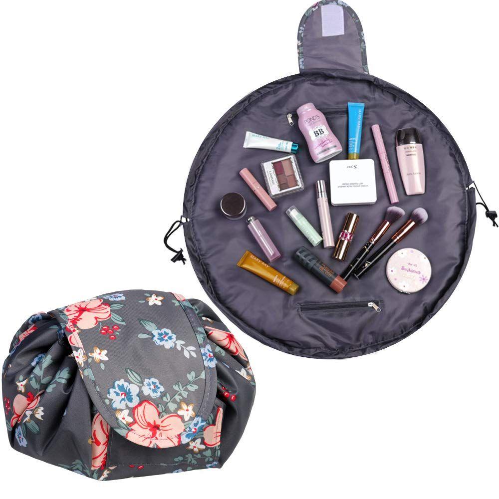 Cosmetic Bag Drawstring Quick Makeup Bag Travel Toiletry ...