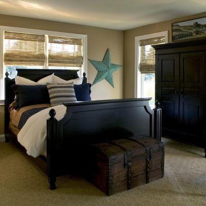bedroom black furniture design ideas