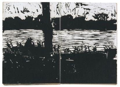 "Anselm Kiefer, ""Der Rhein"", 1983, collection particulière © Anselm Kiefer Photo © Charles Duprat"
