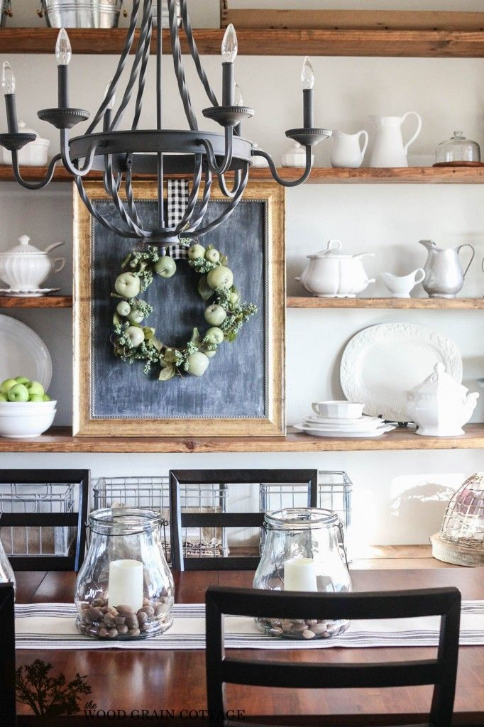 Spring Home Tour: Part One - The Wood Grain Cottage