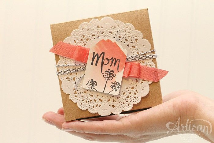 Pretty Handmade Packaging for your Mother's Day Gift giving | Stampin' Up! Artisan Blog Hop | Mother's Love