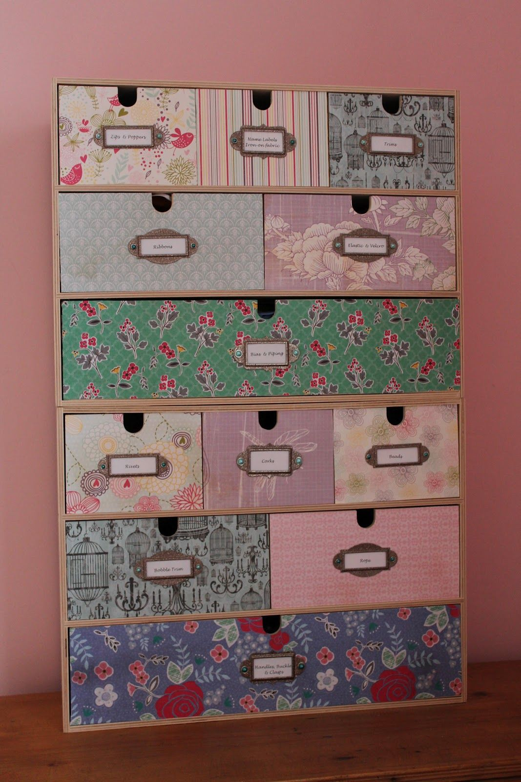 Upcycled moppe mini chest from ikea diy pinterest for Cajas almacenamiento ikea