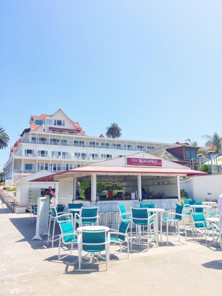 The Beach Bar At Hotel Del Coronado