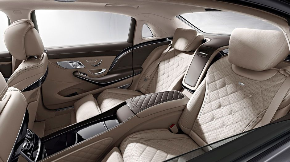 S Class Maybach Interieur Van De Mercedes Auto S