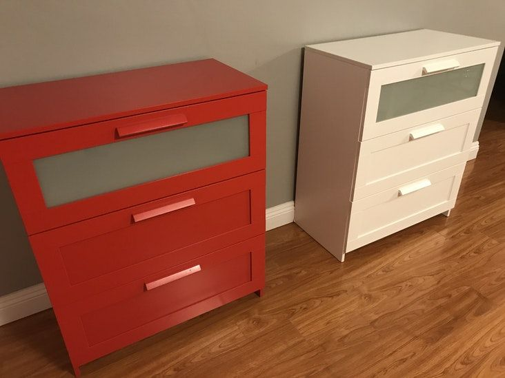 Ikea Brimnes 3 Drawer Chest White