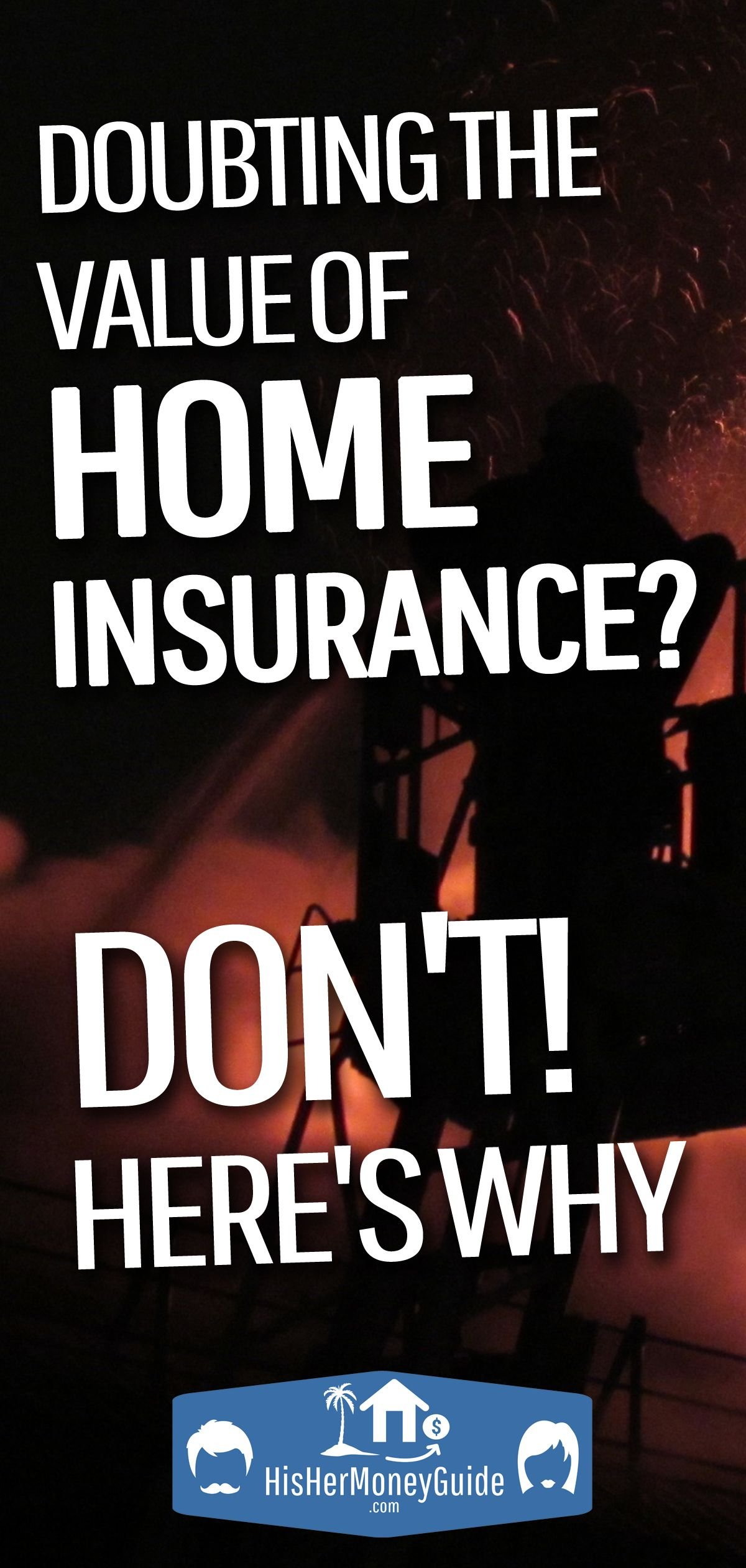 Doubting home insurance how we got lucky two days after