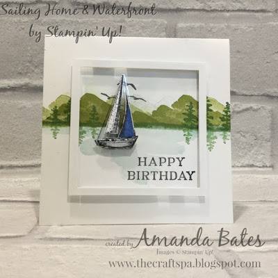 The Craft Spa - Stampin' Up! UK independent demonstrator - Order Stampin Up in UK: Sailaway Saturday