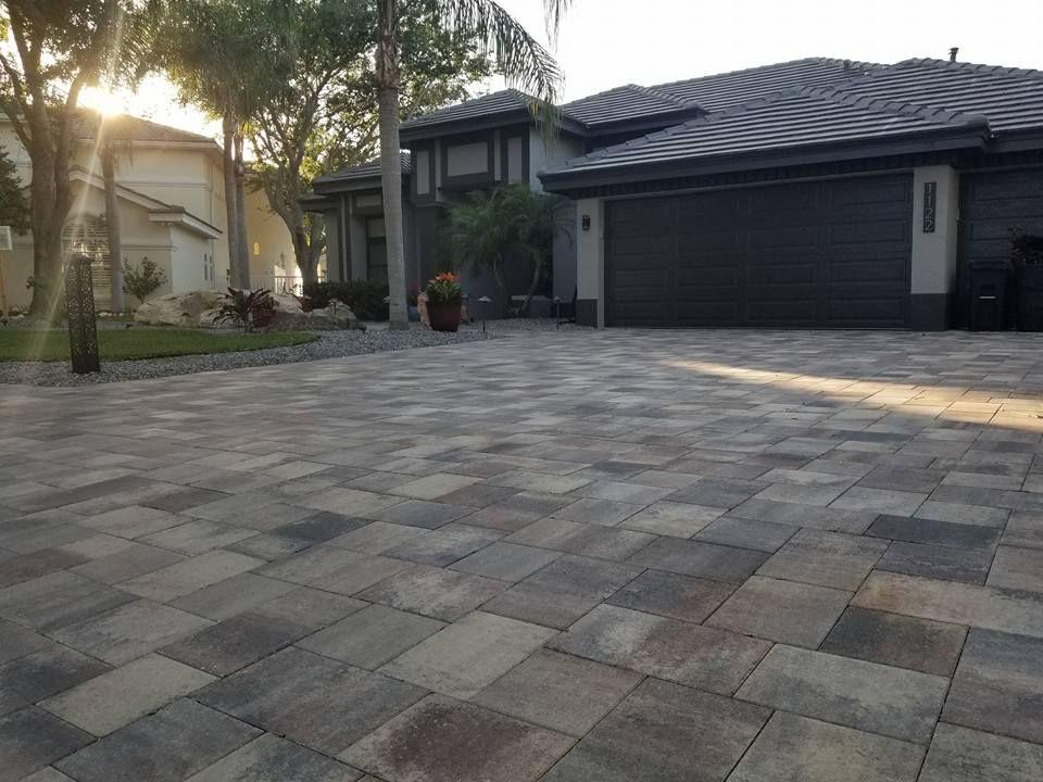 Tampa Brick Paver Driveway Brick Paving Patio Patio Garden Design Paver Driveway