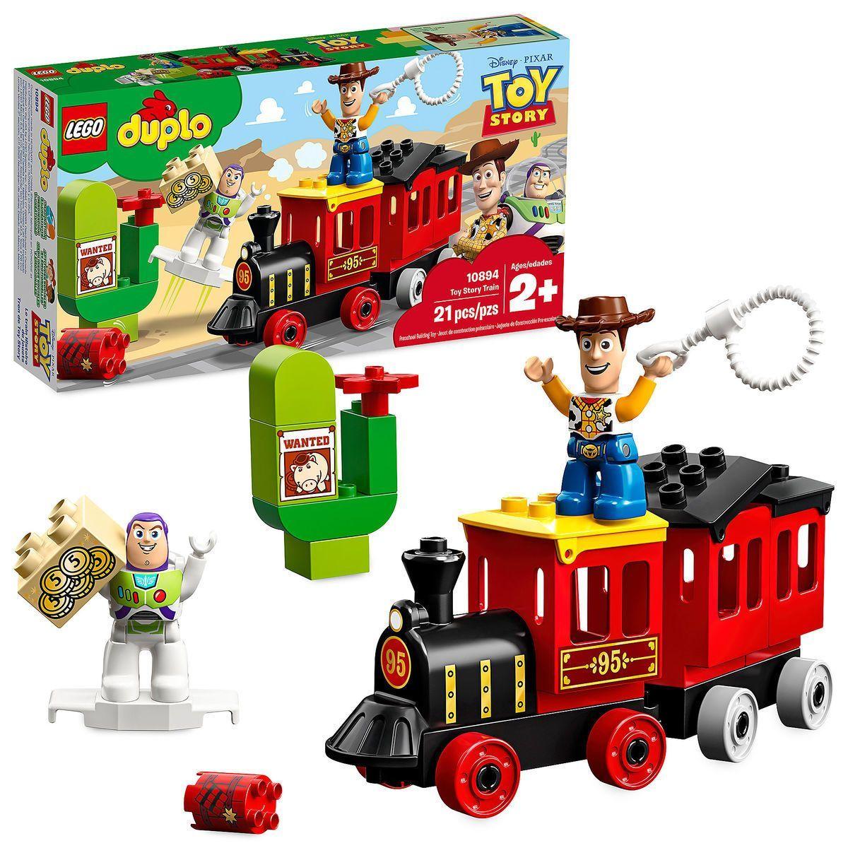 By Set Story Train Lego®Lego Technic Toy Duplo Play YeDHE29WI