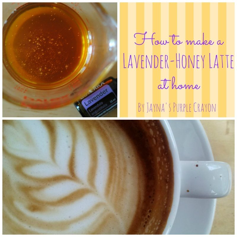 Perfect Spring Latte! Recipe For Lavender