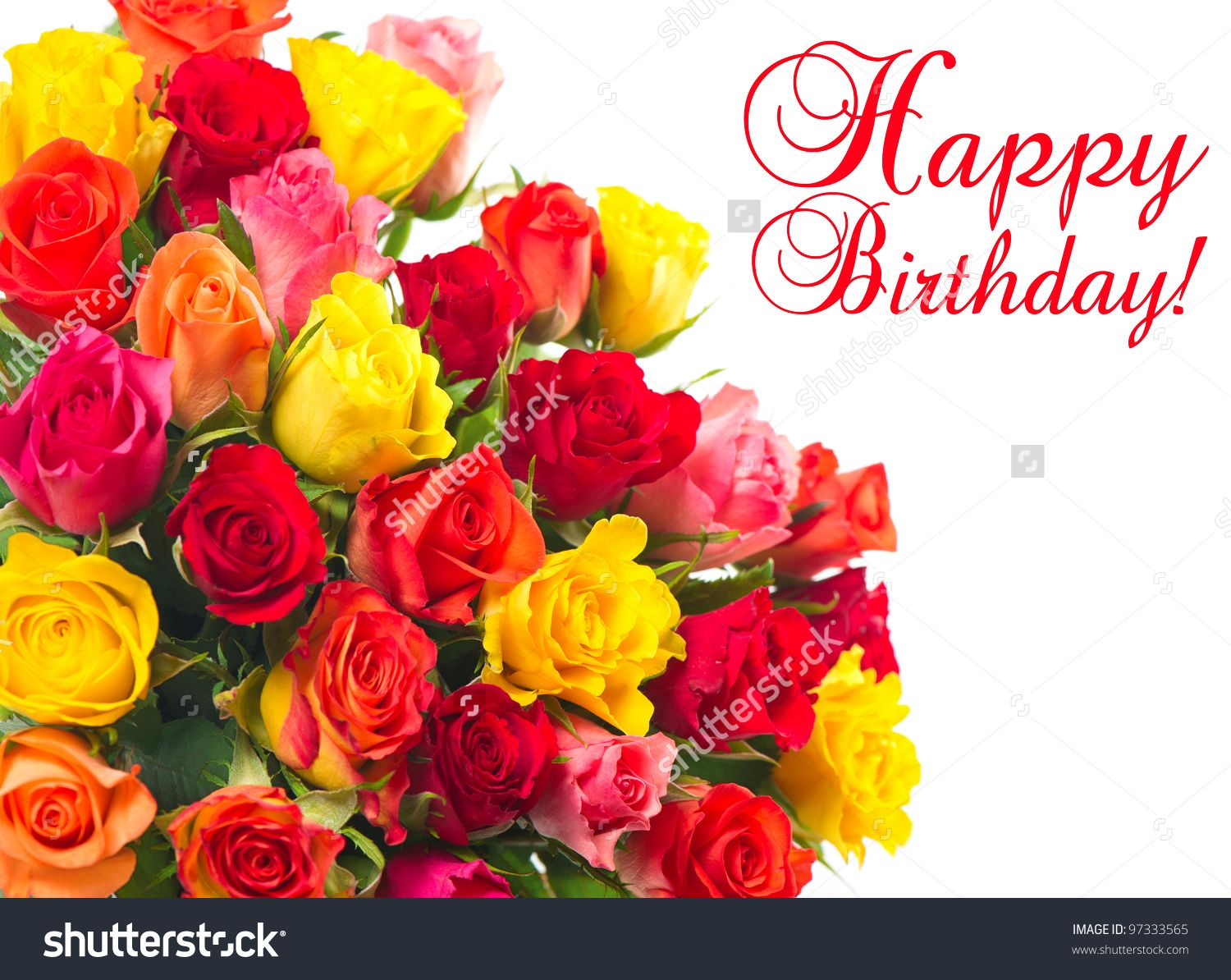 Happy Birthday Bouquet Flowers | Stock Flower Images | Pinterest ...