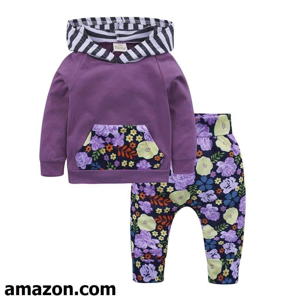 78865f1c63 Pollyhb Baby Boys Girls Clothes Set
