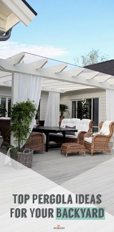 top backyard pergola ideas for your garden pergola attached to rh pinterest com