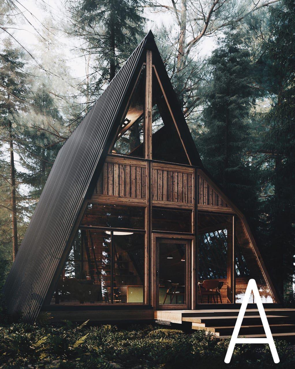 Random Inspiration 347 Cabin Design Modern Cabin A Frame House