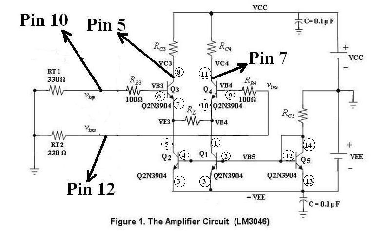 EE124 Lab: Differential Amplifier in the Remote Lab which