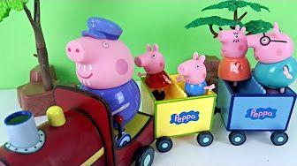 MASSINHA PLAYDOH COM SURPRESAS PEPPA PIG PIG GEORGE DORA AVENTUREIRA  PATRULHA CANINA GALINHA PINTADI - YouTube