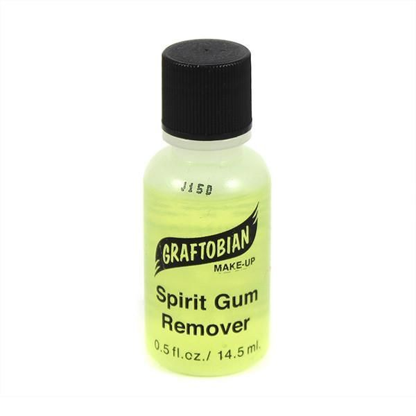 Graftobian Spirit Gum Remover #gumremoval If your creation requires Spirit Gum, it also needs Graftobian's Spirit Gum Remover! Don't try to remove your prosthetic piece, latex appliance or crepe wool hair without it! Simply work remover under appliance with sponge-tipped implement or a cotton swab and gently loosen and lift. Cleanly and gently dissolves Spirit Gum for easy removal. VIDEO INGREDIENTS Isopropyl Myristate, Mineral Oil, Phenoxyethanol, Isopropylparaben, Isobutylparaben, Butylparaben #gumremoval