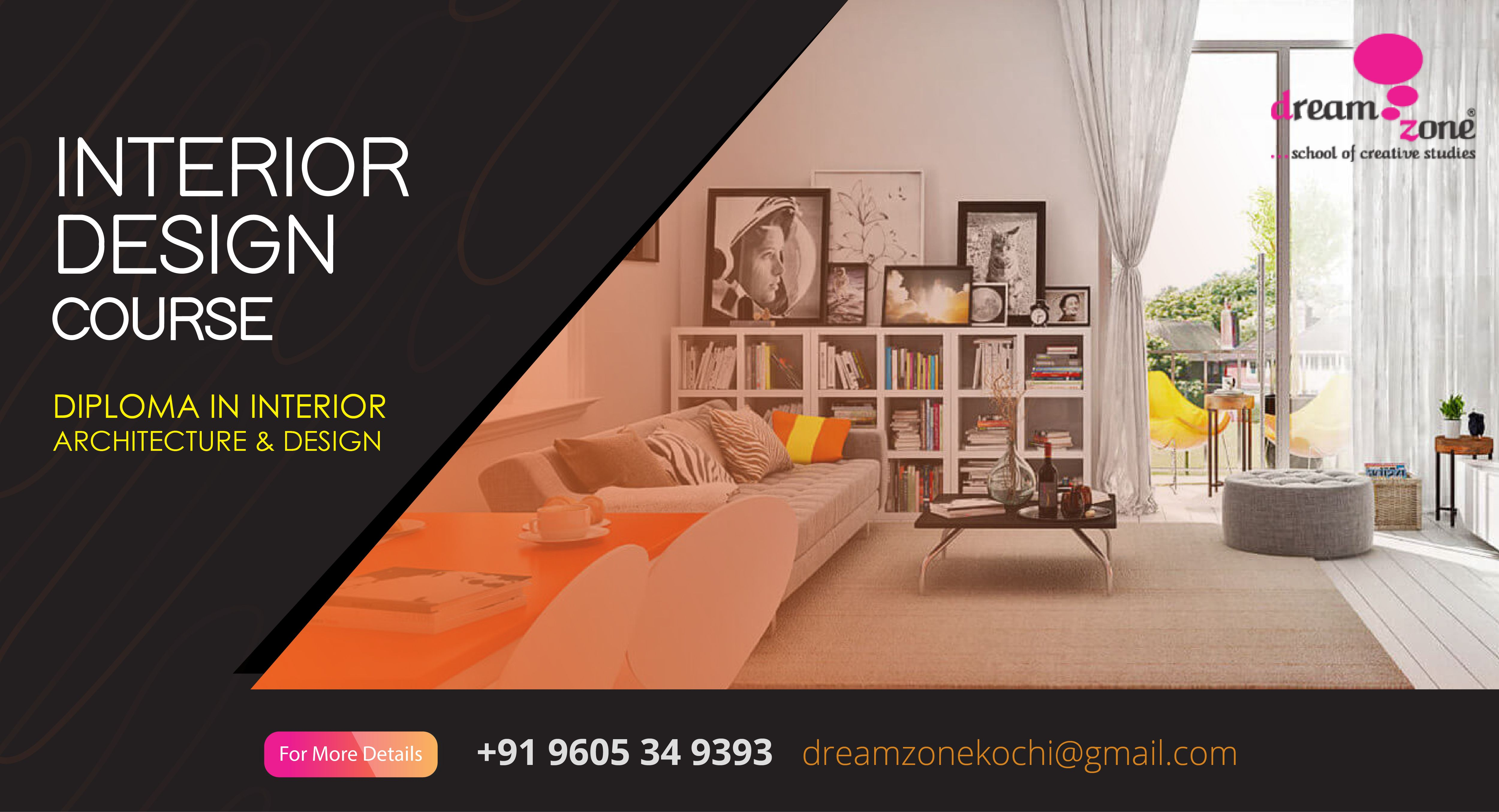 Interior Designers Make Interior Spaces Functional Safe And Beautiful For Almost Every Type Of Building Offices Hom Interior Interior Design Courses Design