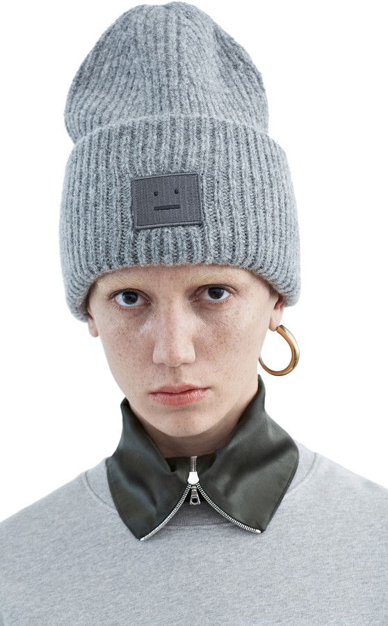 ACNE Pansy shet hat medium grey  959c2171154