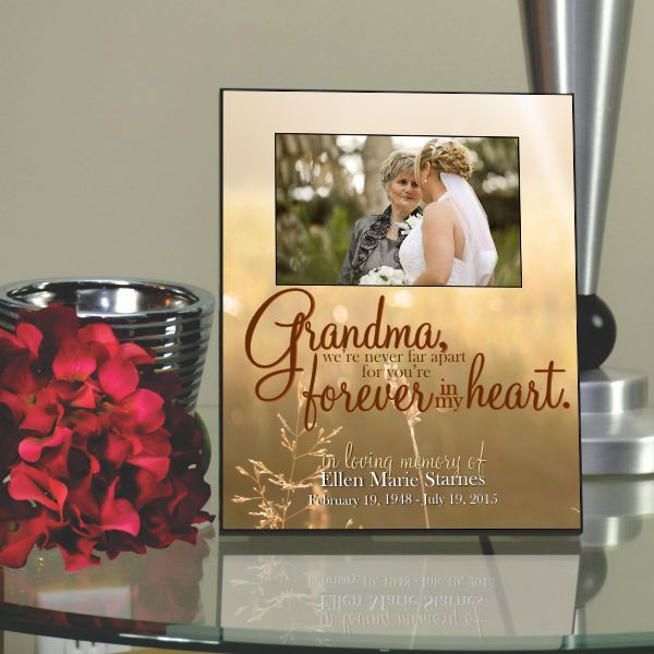 Grandma Forever Loved Picture Frame   Grandmothers