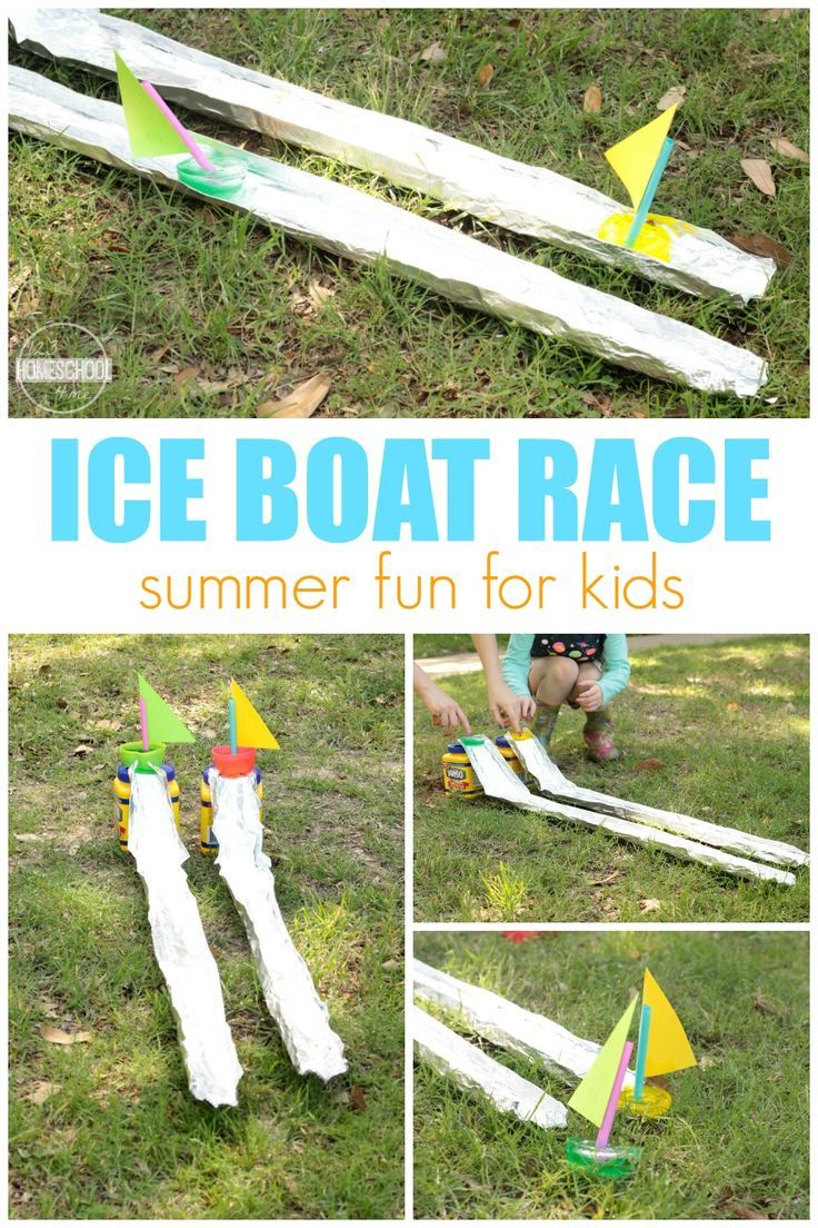 Ice Boat Races Sports activities for kids, Water games