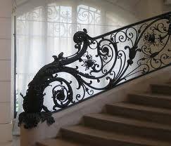 fun wrought iron staircase. paris wrought iron staircase  Fun things for home Pinterest