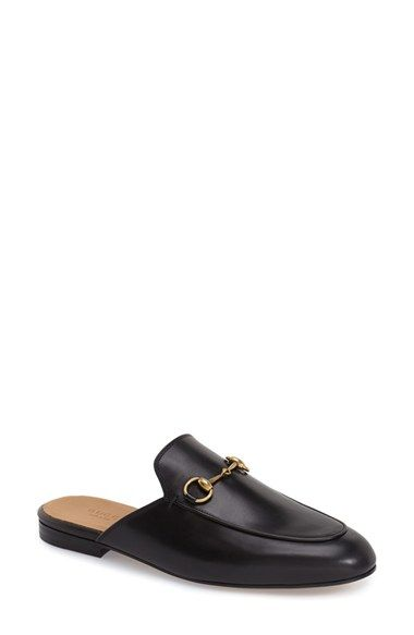 296823bba64 Free shipping and returns on Gucci  Princetown  Mule Loafer (Women) at  Nordstrom.com. Signature goldtone horsebit hardware hearkens back to Gucci s  heritage ...