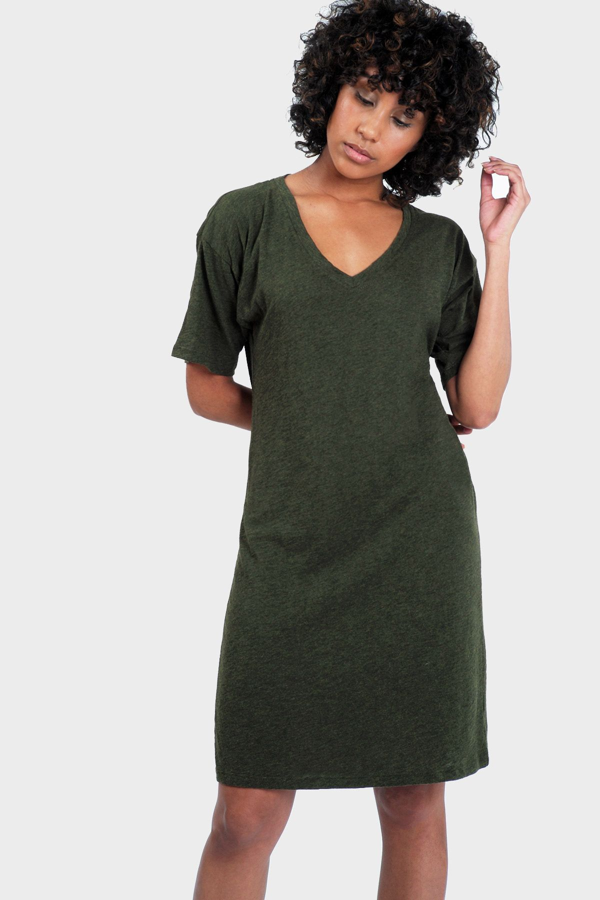 f28c0c6bfa Mika T-Shirt Dress in Organic Cotton  Bamboo Rayon •  337brand   joingreenmoves  boston  popup  retail  madeinnyc  sustainablefashion   ethicalfashion ...