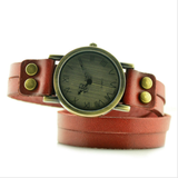 """face it"" wrap watch"