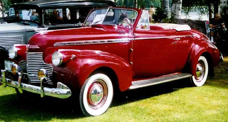 Gallery For 1940s Convertible Cars With Images Vintage Cars