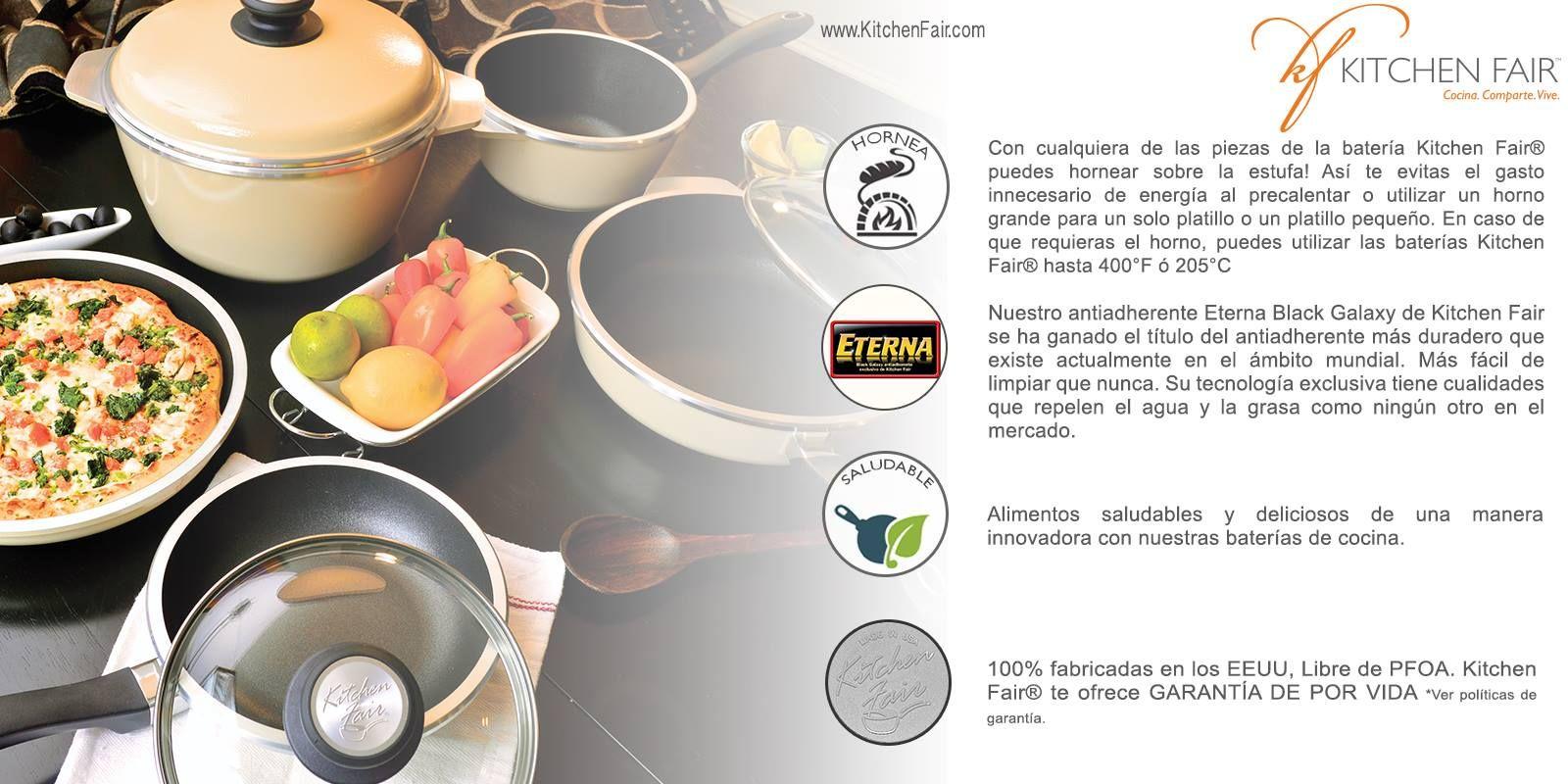 El Poder de la Bateria de Cocina Kitchen Fair | BATERIAS Y ...