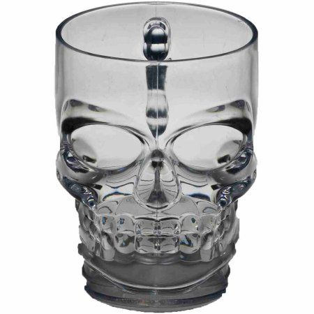 Skull Mug Halloween Decoration, Multicolor Skulls, Halloween - skull halloween decorations