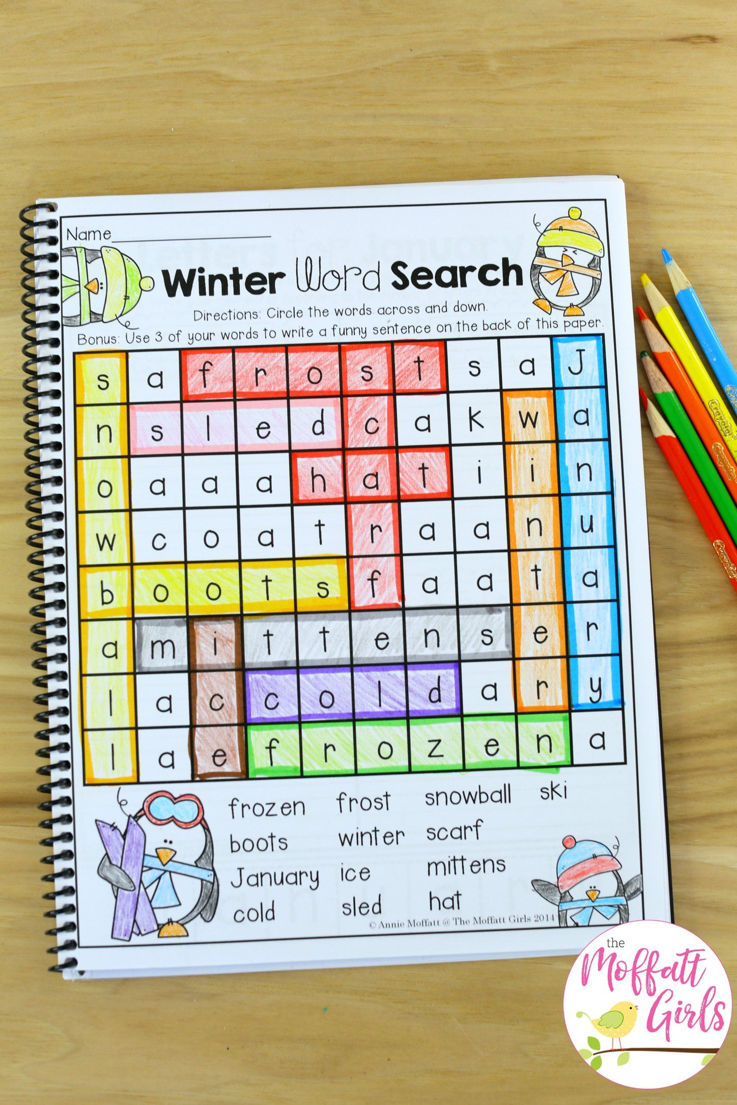 January Learning Resources With No Prep With Images