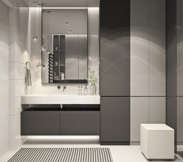 Inside Apartments Cheap: Blush, Black And White Decor In A Modern Family Apartment
