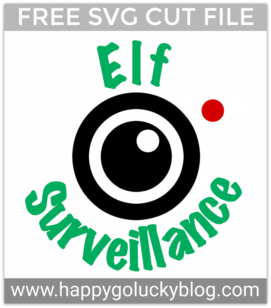 Santa's Watching You! Christmas svg, Elf shirt, Santa cam