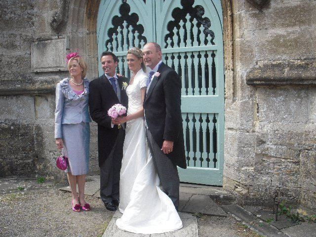 One of our mother of the bride in in Malmesbury, Wiltshire