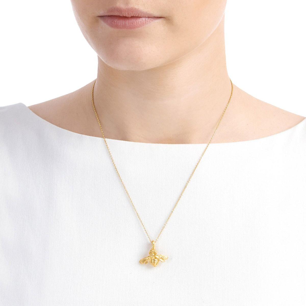 Deborah Blyth Jewellery Gold Bumble Bee Necklace qJ1bNzyjo
