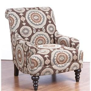 29a0 Swivel Accent Chair By Corinthian Swivel Chair Swivel